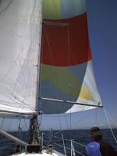 Photo: 風がSSWに変わったのでスピンアップ!