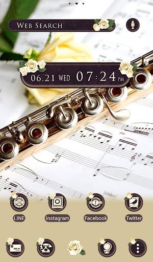 Elegant Wallpaper Rose & Flute Theme 1.0.0 Windows u7528 5