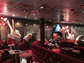 Photo: Mad Hatters comedy club - crazy decor everywhere