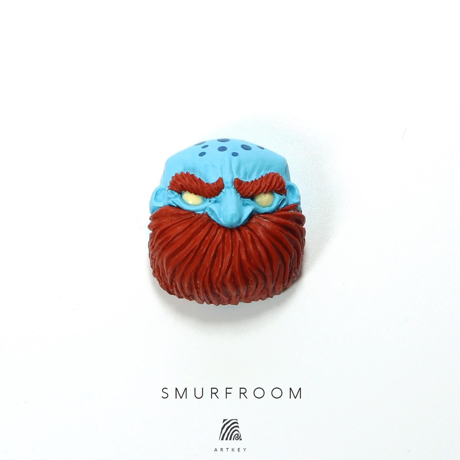Artkey - Smurfroom Jack Bald