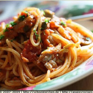 Spaghetti With Cape Hake Sauce
