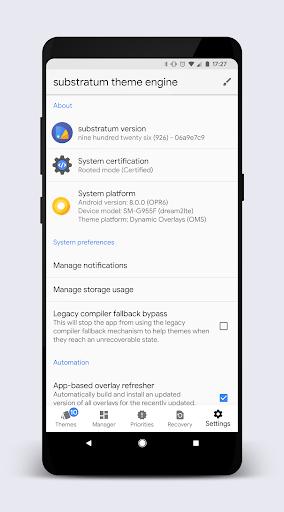 [Substratum] StatusBar (+extra) for Samsung DONATE  screenshots 8