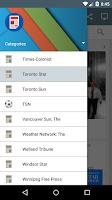 Screenshot of Canada Newspapers