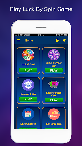 Luck By Spin - Lucky Spin Wheel  screenshots 1