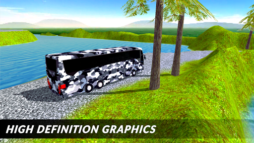 Off-road Army Bus: Army Driver Bus Simulator 1.0 screenshots 3