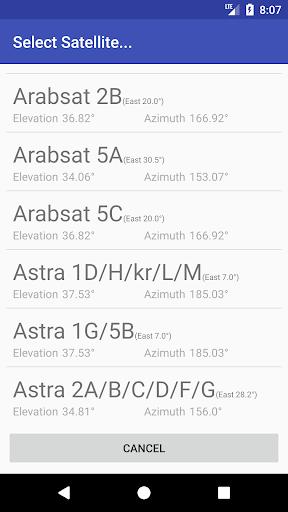 Satellite Finder 3.94 screenshots 2