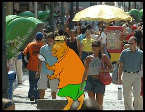 Photo: Zecapivara, mascote do Pântano do Sul no Plano Diretor