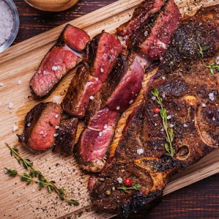 The Juiciest Rib-Eye Steak Just Like Cracker Barrel