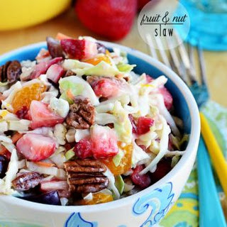 Fruit and Nut Slaw.