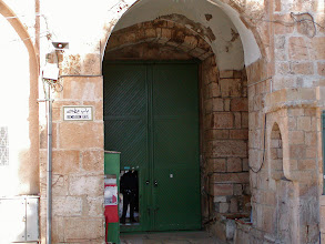 Photo: Small door at the gate