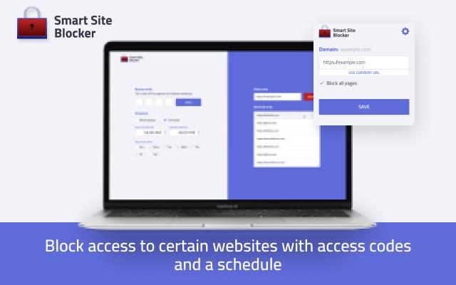 Smart site blocker