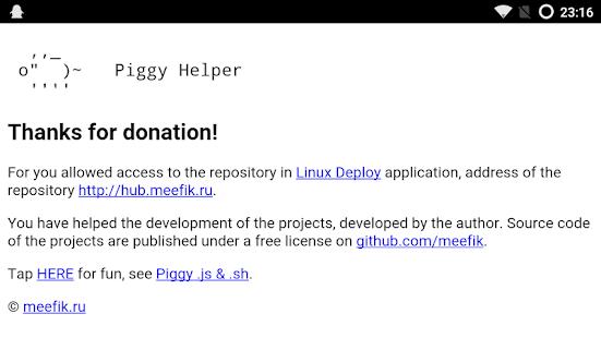 Piggy Helper Screenshot