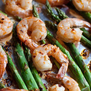Sheet Pan Shrimp and Asparagus.