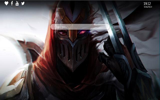 League of Legends Wallpaper New Tab Theme