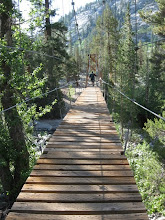 Photo: Woods Creek Jct, 8492' - bridge is called the Golden Gate of the Sierra