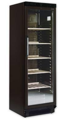 Wijnkasten CPV1380 WIJNKOELER - 1 GLAS DEUR - 1 TEMPERATUUR - 90 FLESSEN