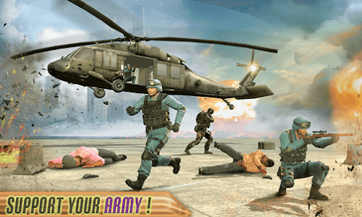 Army Fighting Battle –  New Helicopter Game 2020 3