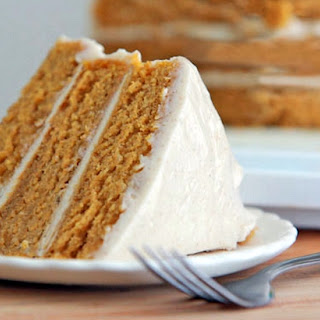 A Really Easy Pumpkin Cake To Make With Cinnamon Cream Cheese Frosting