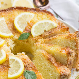 Famous Ritz Carlton Hotel Lemon Pound Cake Recipe