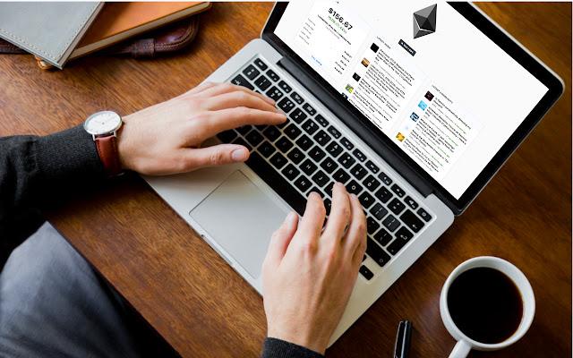 Ethereum Tab - Streaming price & market info.