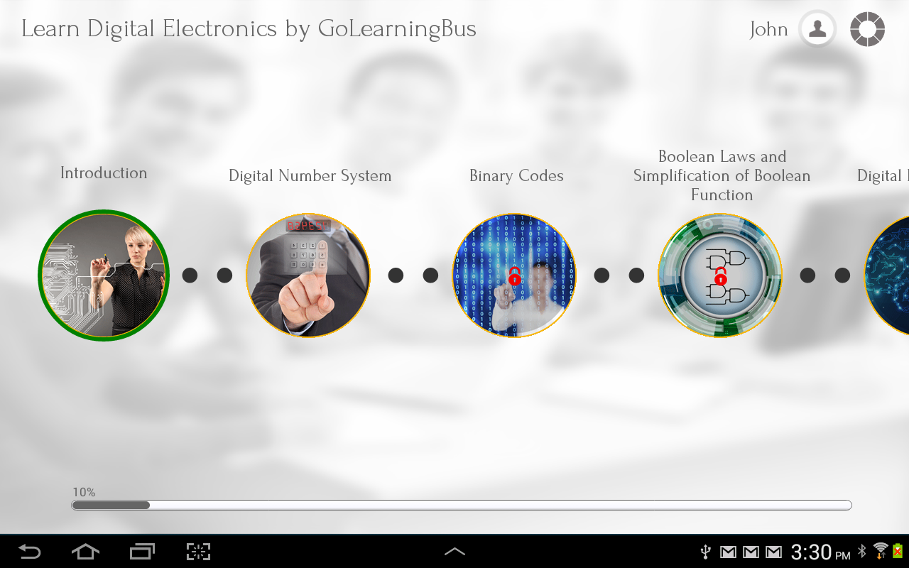 Learn Digital Electronics- screenshot