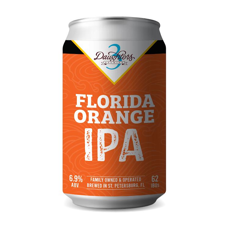 Logo of 3 Daughters Florida Orange IPA