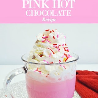 Pink Hot Chocolate.