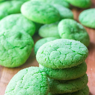 Green Soft Sugar Cookies.