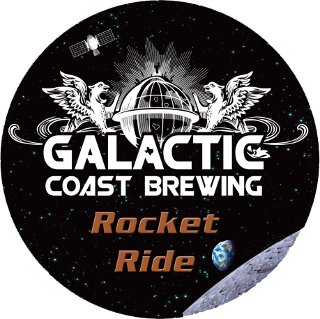 Logo of Galactic Coast Rocket Ride