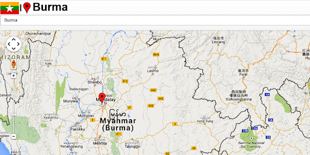 Mandalay Map Android Apps On Google Play - Burma map hd pdf