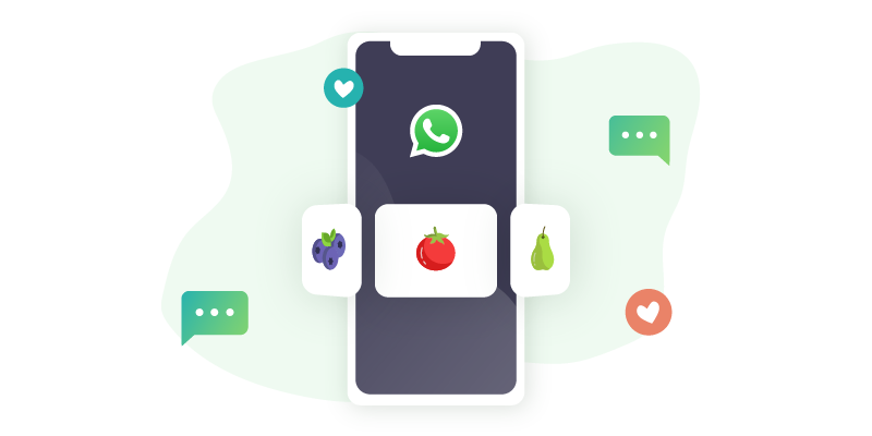 product recommendations on whatsapp