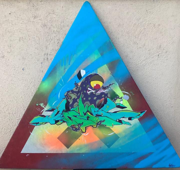 Acronimo Roma | Cartello triangolo
