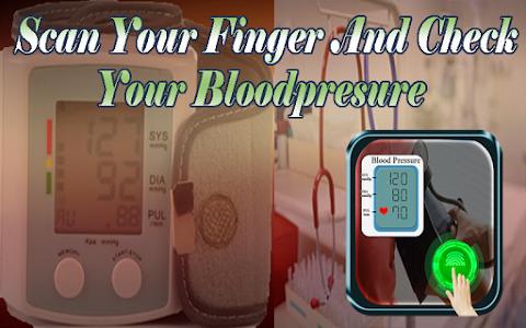 Blood Pressure Checker Prank screenshot 1