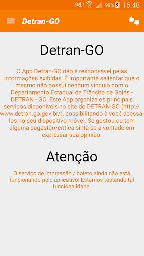 Detran-GO App