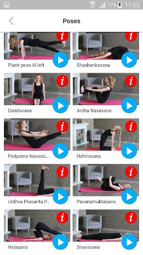 Daily Yoga Poses & Asanas for Ab & Slim Waist screenshots 4