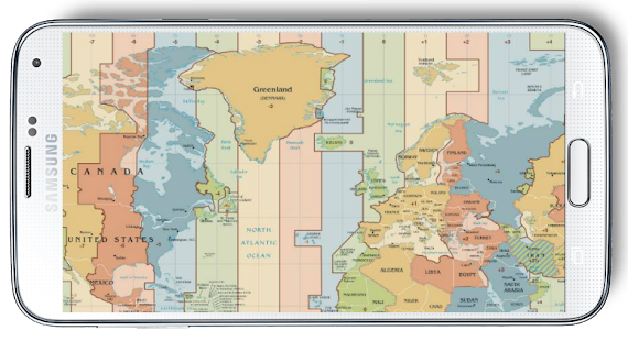 World map time zone android apps on google play world map time zone screenshot thumbnail gumiabroncs Gallery