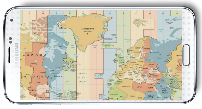 World map time zone android apps on google play world map time zone screenshot gumiabroncs Image collections