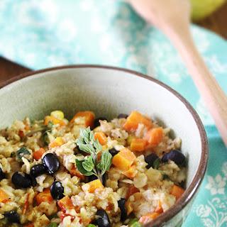 Savoury Oatmeal | Healthy & Delicious Savoury Breakfast | Vegan.