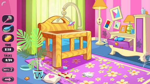 Baby House Cleaning : House Cleaning Game cheat hacks