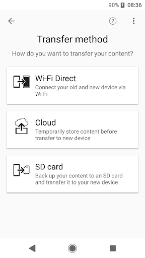 Xperia Transfer Mobile for PC