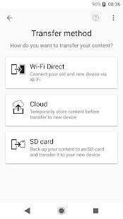App Xperia Transfer Mobile APK for Windows Phone