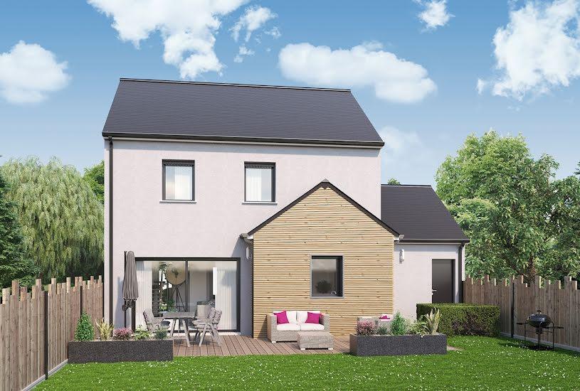 Vente Terrain + Maison - Terrain : 365m² - Maison : 89m² à Saint-Herblon (44150)