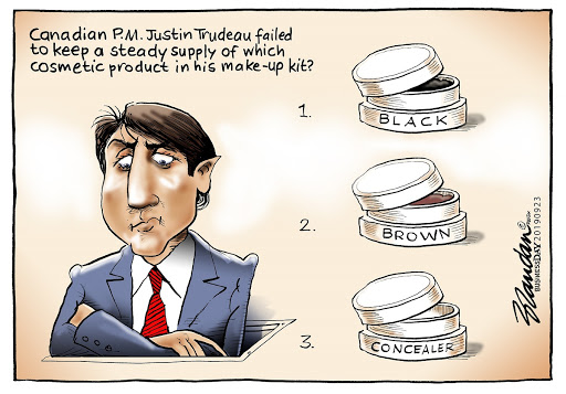CARTOON: Facetime with Trudeau
