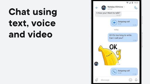 VK u2014 live chatting & free calls 6.11.1 Screenshots 2