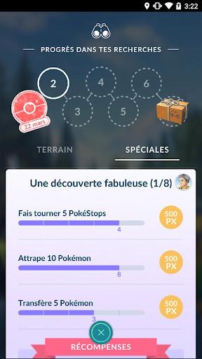 Pokémon GO  captures d'écran 3