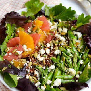 Citrus and Asparagus Salad.