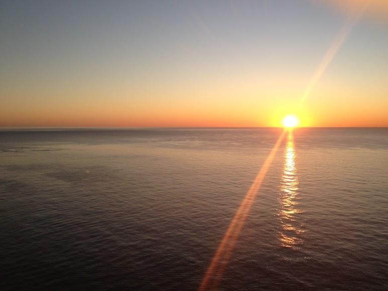 Pulpí, amanecer en San Juan de los Terreros.