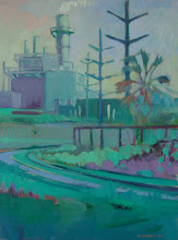 Photo: Pittsburg Power Plan, oil on canvas by Nancy Roberts, copyright 2014.