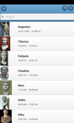 Roman emperors - screenshot