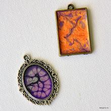 Photo: Декор бижутерии красками Fantasy Prisme и Moon
